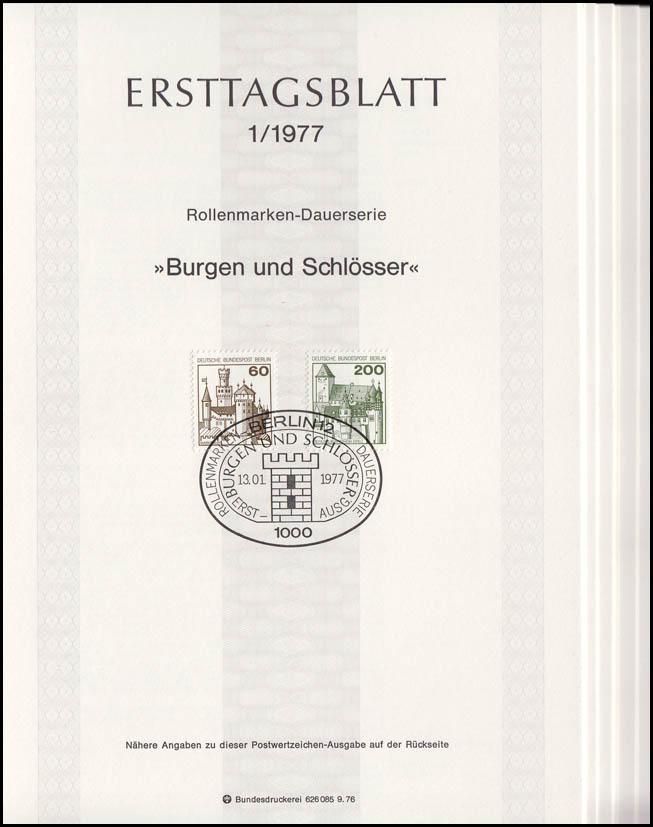 ETB Berlin Jahrgang 1977 Nr. 1 - 15 komplett