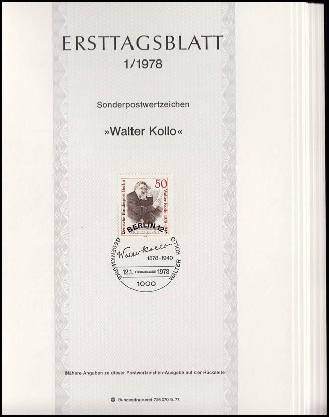 ETB Berlin Jahrgang 1978 Nr. 1 - 14 komplett