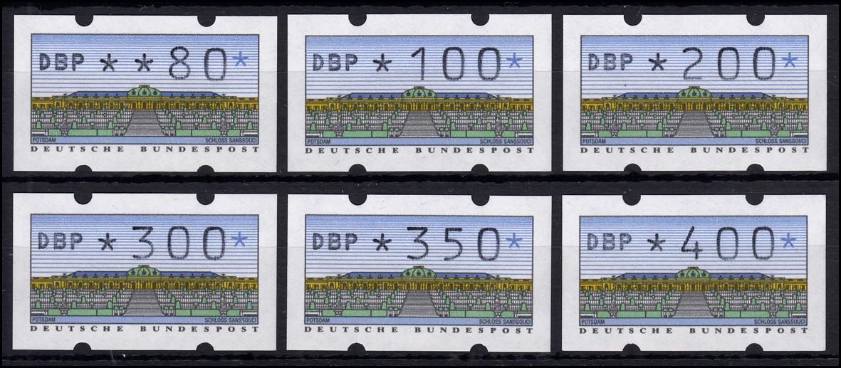 2.1.2 Typ N Typendruck (dickes DBP) - VS 1 - 6 ATM (80-400) **