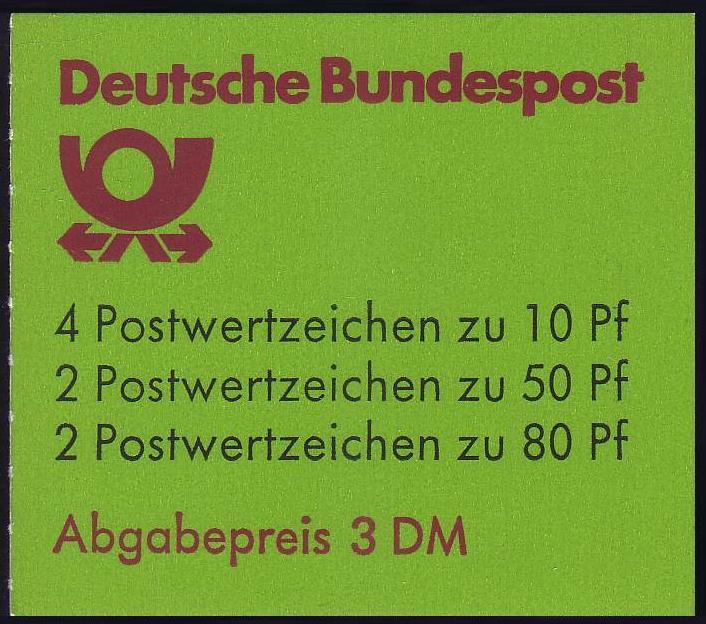 24d MH BuS 1982 - postfrisch **
