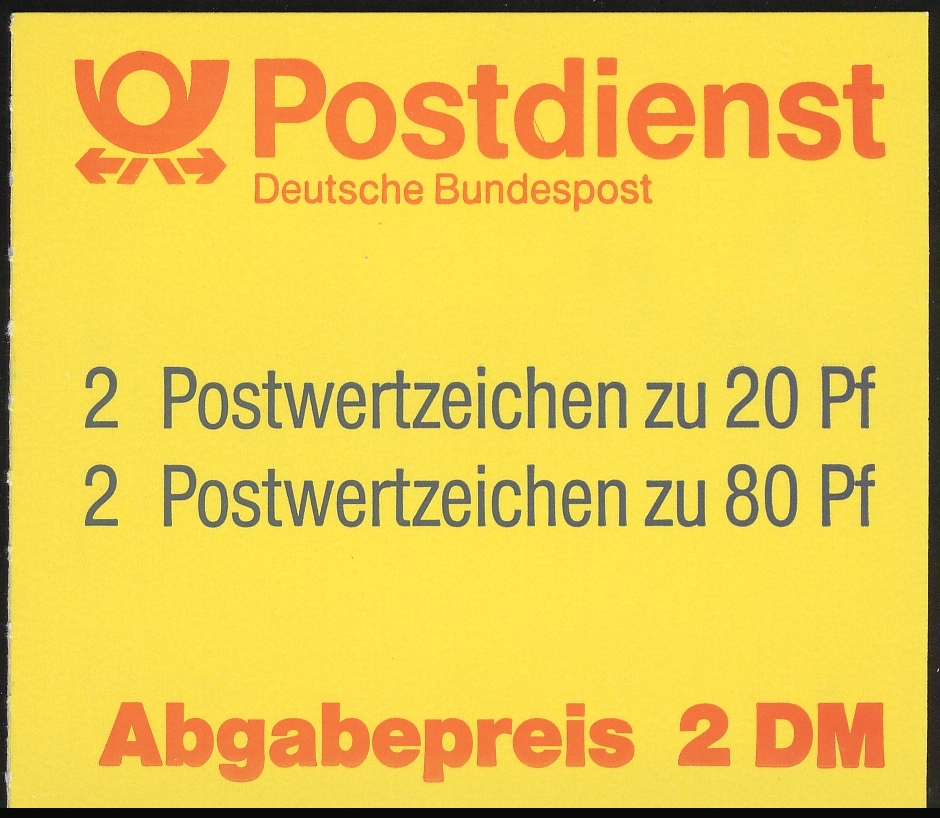 28a MH SWK 2,- DM 1993, 50/4,5 mm, postfrisch