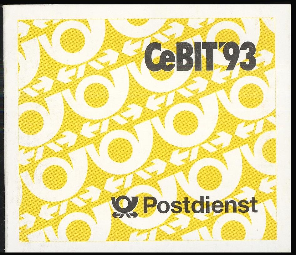 28b MH Cebit, 50/4,5 mm, postfrisch