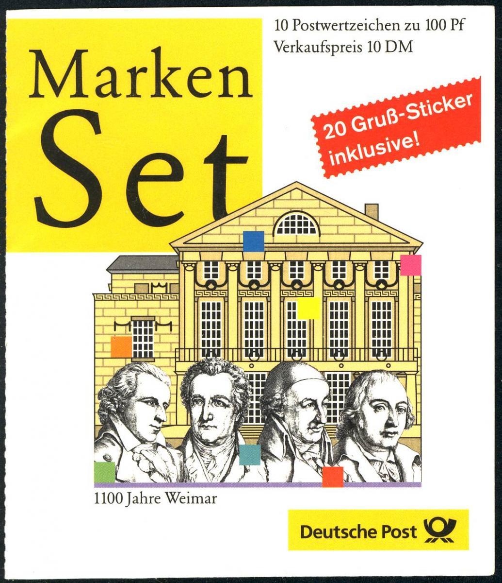 38 MH Weimar, postfrisch