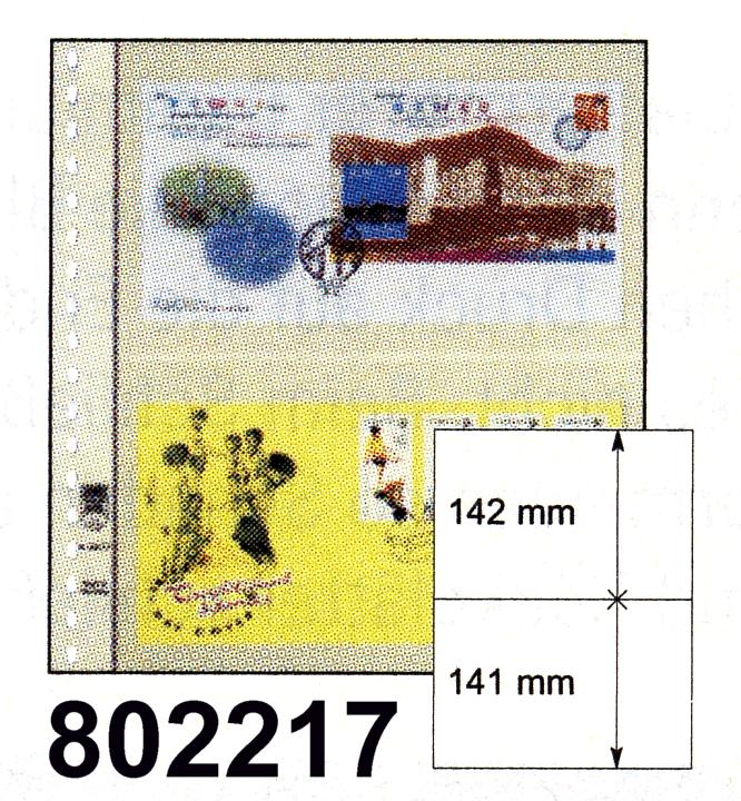 LINDNER-T-Blanko-Blätter 802 217 - 10er-Packung