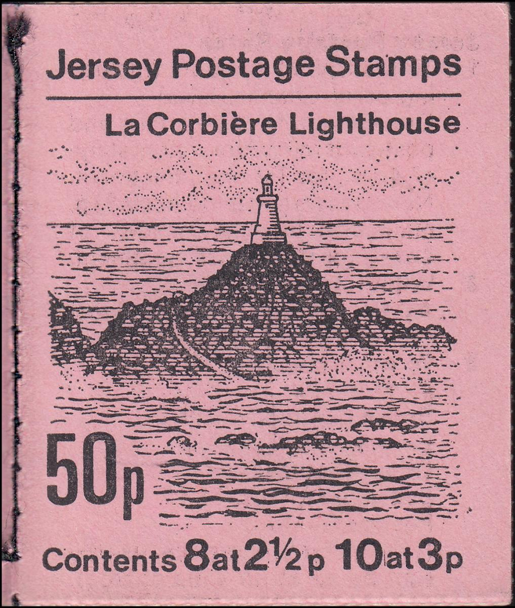 Jersey Markenheftchen 0-9, La Corbiere Lighthouse, **