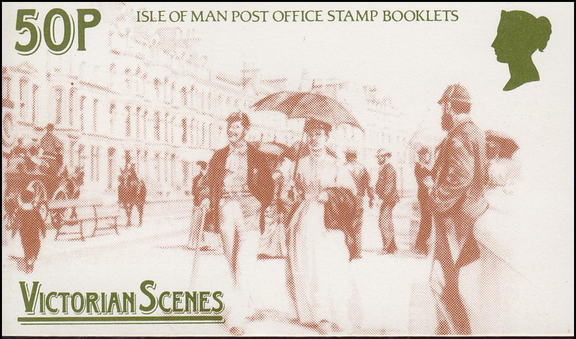 Isle of Man Markenheftchen 12, Viktorianische Szenen 1987, ** postfrisch
