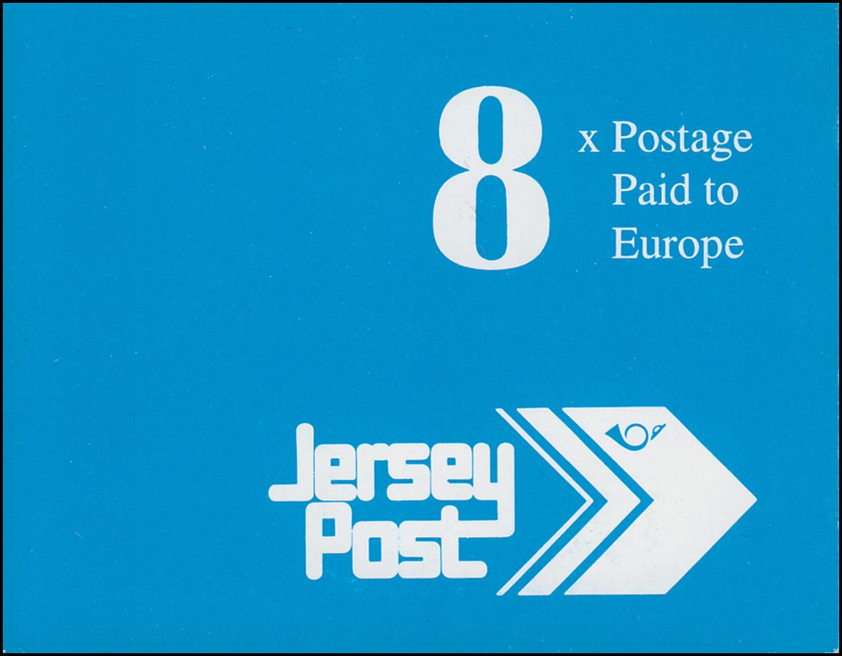 Jersey Markenheftchen 5, Freimarken 2,24 Pfund 1993, **