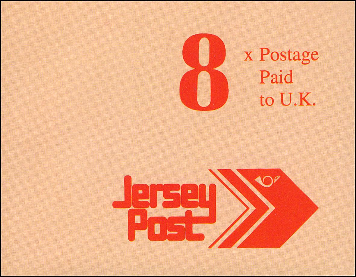 Jersey Markenheftchen 4, Freimarken 1,84 Pfund 1993, **