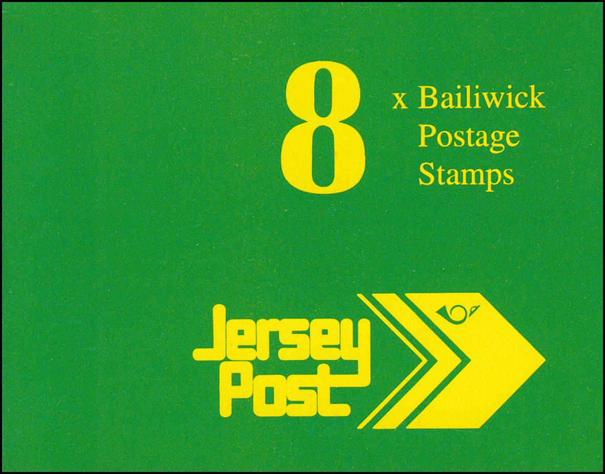Jersey Markenheftchen 3, Freimarken 1,36 Pfund 1993, **