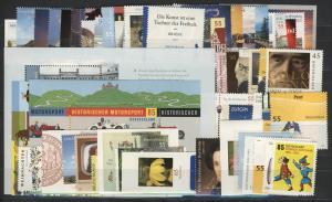 2707-2767 Deutschland Bund-Jahrgang 2009 komplett, postfrisch **