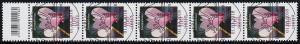 3365 Alpenveilchen 100 Cent, 5er-Streifen mit Codierfeld, ESSt Berlin