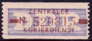 20-N-III-Neudruck Dienst-B, Abart III, Billet **