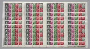 MHB 5YII a Heuss/1 Pf 1960, WZ Y Type II, **