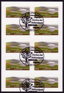FB 17 Kellerwald-Edersee, Folienblatt 10x2863 EV-O Bonn
