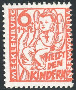 26a Kinderhilfe 6 Pf. - schöne Verzähnung, ** postfrisch geprüft Kramp BPP