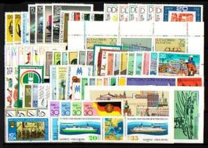 2388-2477 DDR-Jahrgang 1979 komplett, postfrisch ** / MNH