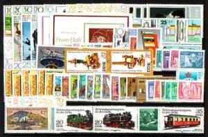 2478-2571 DDR-Jahrgang 1980 komplett, postfrisch ** / MNH