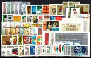 2764-2847 DDR-Jahrgang 1983 komplett, postfrisch ** / MNH