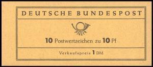 6fb I MH Heuss 1961, R1, Nr.7 neben der oberen Marke unten **