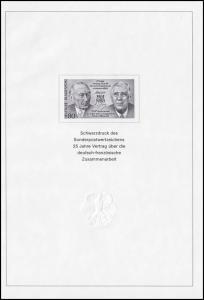 Schwarzdruck aus JB 1988 deutsch-französische Zusammenarbeit