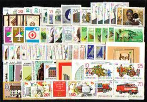 3063-3139 DDR-Jahrgang 1987 komplett, postfrisch ** / MNH