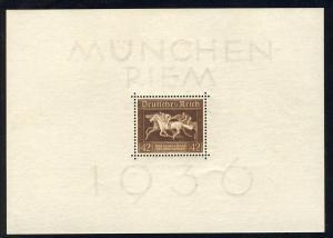 Block 4 Das Braune Band 1936, postfrisch **