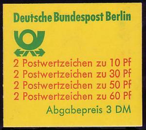 12cb MH BuS 1980 [rote 60er], ** postfrisch