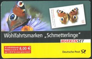 60 MH Schmetterlinge - Versandstellenstempel Weiden 1.12.2005