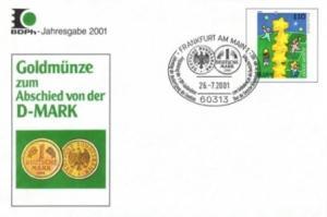 BDPh-Jahresgabe 2001 Abschied von der D-Mark auf USo 19