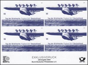 BDPh-Jahresgabe 2004 Tag der Briefmarke Flugboot Do X