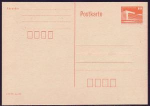P 86II Bauwerke klein 10 Pf Palast der Republik, orange 1986, mit DV. postfrisch