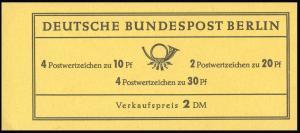 5d MH Brandenburger Tor/unbedruckt - RLV IV **