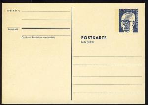 P 85a - Heinemann 50 Pf, rahmfarben **