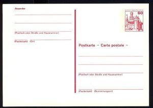 P 110 - BuS 60 Pf mit Strichlinien, **
