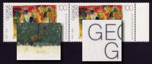 1656I Grosz: Paar mit 2 PLF: braune Flecken & Kerbe im G, Feld 19 und 20 **