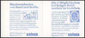 22Ig MH BuS 1980 Buchdruck Variante a - mit ZB **