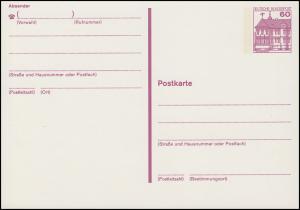 P 135 II BuS 60 Pf Letterset ** wie verausgabt
