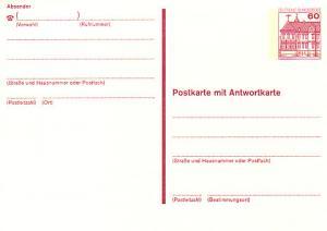 P 137 II BuS 60/60 Pf Letterset ** wie verausgabt