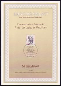 Ersttagsblätter ETB Bund Jahrgang 1992, Nr. 1 - 48 komplett