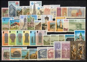 Gemeinschaft / CEPT / Europa 1978 Jahrgang 30 Ausgaben komplett **