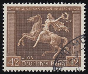 671y Das Braune Band O gestempelt
