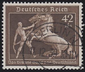 699 Das Braune Band 1939 - Marke O gestempelt