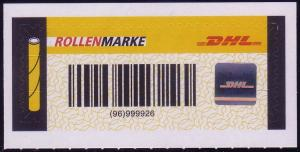 Nummer 5 - Rollenservicemarke 2009, postfrisch **