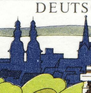 1583y Koblenz, PLF weißer Fleck im Kirchturm, Feld 45 **