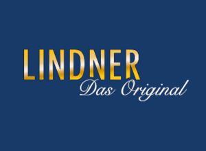 LINDNER Kassette für Ringbinder 1104, leer, hellbraun