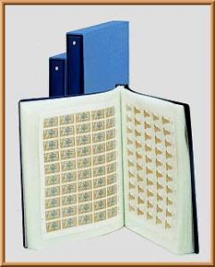 LINDNER-Bogenalbum für 100 Bogen bis 245 x 315 mm leer