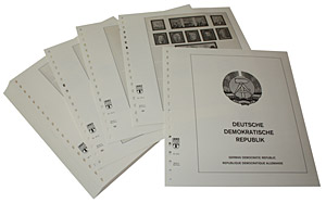 LINDNER-Vordrucke DDR 1975-1979