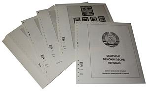 LINDNER-Vordrucke DDR 1985-1990