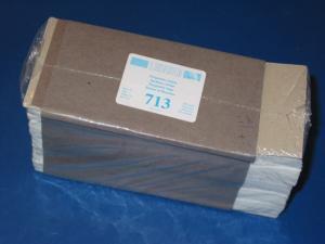 LINDNER 500 Pergamin-Tüten Nr. 713 - 70 x 150 mm + 20 mm Klappe