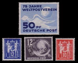 DDR-Jahrgang 1949, postfrisch komplett ** / MNH